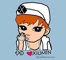 EXO Xiumin chibi  Womens Fitted T-Shirt
