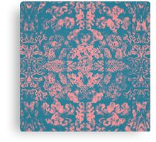 Great Barrier Reef ( pink ) coral pattern Canvas Print