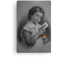 Mona Lisa Smile Canvas Print