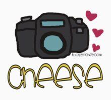 "Camera ""cheese"" Photography love Baby Tee"