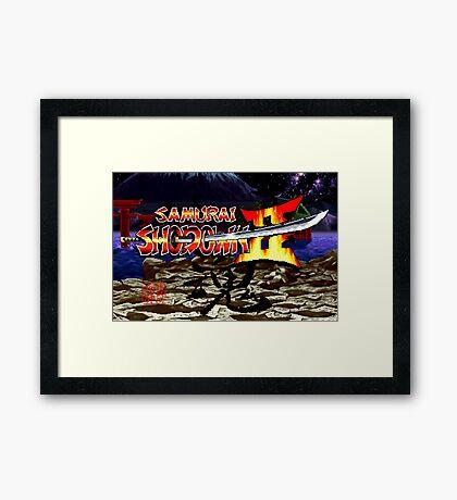 Samurai Shodown 2 (Neo Geo) Framed Print