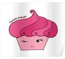Cupcake Princess Love Pink Poster