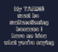 TARDIS malfunction Kids Clothes