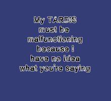 TARDIS malfunction Unisex T-Shirt