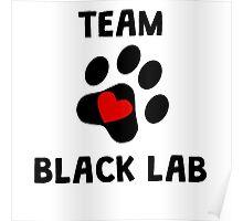 Team Black Lab Poster