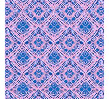 Graphic Shell Pattern Purple Photographic Print
