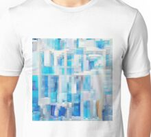 Abstract blue pattern 2 Unisex T-Shirt