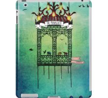 travelling with elephants iPad Case/Skin