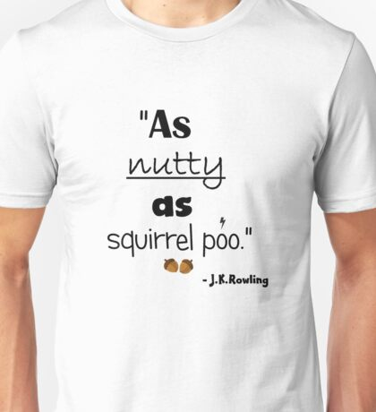 Nutty Poo Unisex T-Shirt