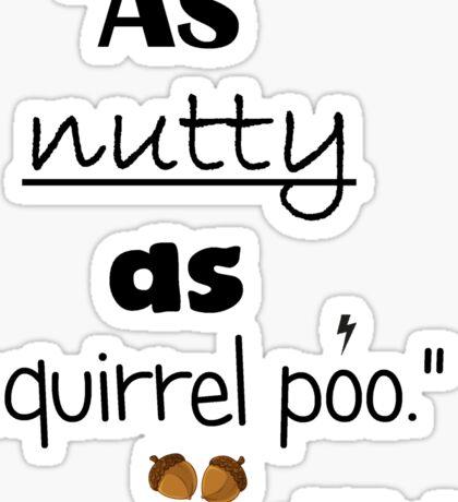 Nutty Poo Sticker