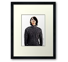 B1A4 CNU Lonely Framed Print