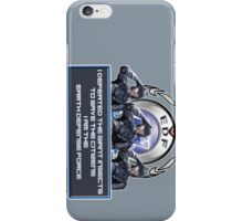 I am the Earth Defense Force iPhone Case/Skin