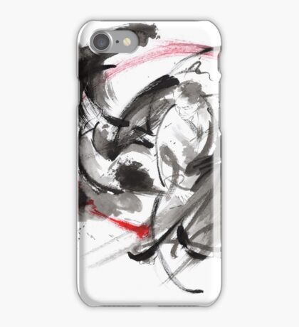 Samurai battle best gift ideas, samurai artwork for sale iPhone Case/Skin