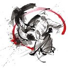 Samurai battle best gift ideas, samurai artwork for sale by Mariusz Szmerdt
