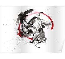 Samurai battle best gift ideas, samurai artwork for sale Poster