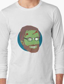 'Stephen Merchant' Halloween Zombie Long Sleeve T-Shirt