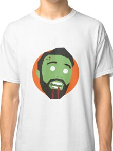 'Ricky Gervais' Halloween Zombie Classic T-Shirt