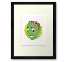 'Karl Pilkington' Halloween Zombie Framed Print