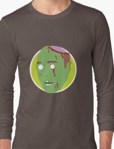 'Karl Pilkington' Halloween Zombie Long Sleeve T-Shirt