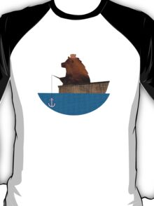 Cheltenham the Bear: Fishing Trip T-Shirt