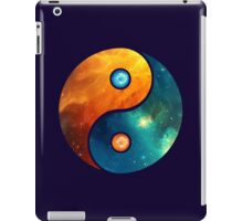 Yin Yang, Space, Cosmos, Galaxy, Universe, Outerspace iPad Case/Skin