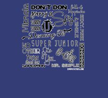 Super Junior singles 2005 - 2013  Womens Fitted T-Shirt