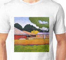 Australian Backyard with Hills Hoist Unisex T-Shirt