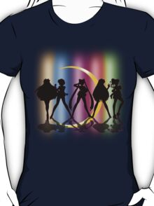 Moon Crescent silhouette T-Shirt