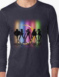 Moon Crescent silhouette Long Sleeve T-Shirt