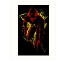 Fastest Man Alive Art Print