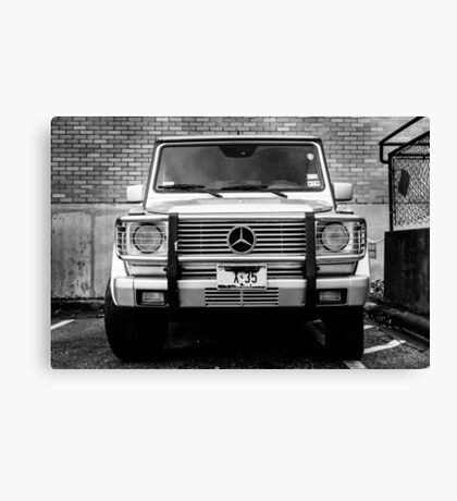 Mercedes G Class Wagon Canvas Print