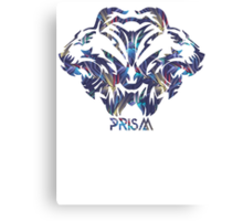 Prism Roar Tiger Canvas Print