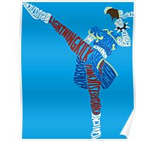 Chun-Li Typography Poster