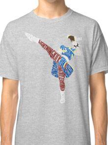 Chun-Li Typography Classic T-Shirt