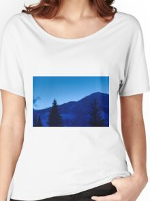 Winter night Women's Relaxed Fit T-Shirt