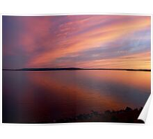 Cotton Candy Sky Poster