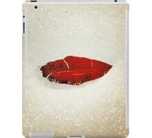 Icy Leaf Lips, version 2 iPad Case/Skin