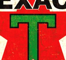 Texaco Vintage Logo Sticker