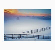 Welsh Winter Sunrise One Piece - Long Sleeve