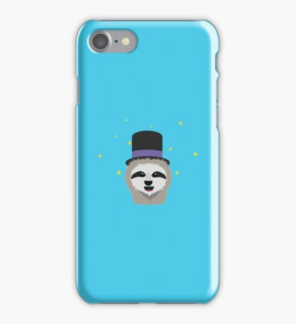 Sloth Wizard with head iPhone Case/Skin