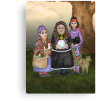 The Three Romanian Witches Canvas Print