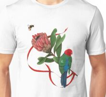 Bumblebee, Protea Flower and King Parrot Unisex T-Shirt
