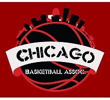 Chicago Basketball Association Photographic Print