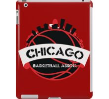 Chicago Basketball Association iPad Case/Skin