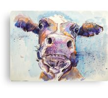 Haughty Cow Canvas Print