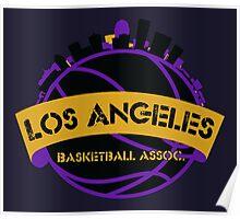 Los Angeles Basketball Association Poster