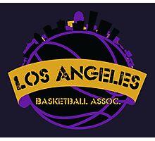 Los Angeles Basketball Association Photographic Print