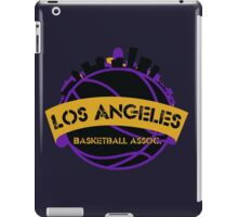 Los Angeles Basketball Association iPad Case/Skin