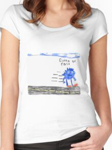 Sonic the Hedgehog GO FAST Women's Fitted Scoop T-Shirt