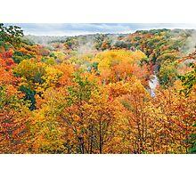 Autumn Overlook Photographic Print
